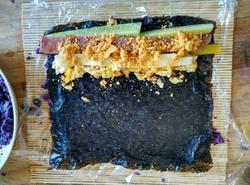 紫薯寿司的做法图解12