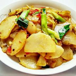 干煸土豆片的做法[图]
