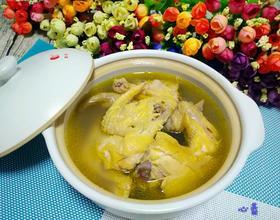 榴莲壳老鸡汤