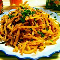 干煸土豆丝的做法[图]