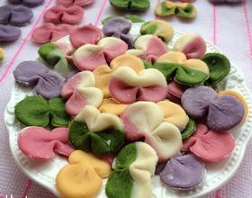 五彩蔬菜蝴蝶面