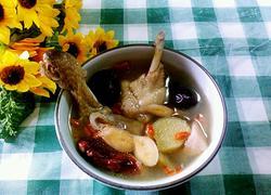 榴莲壳炖鸡汤