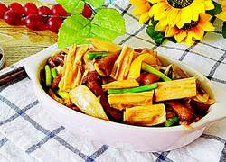 蚝油腐竹素食菌