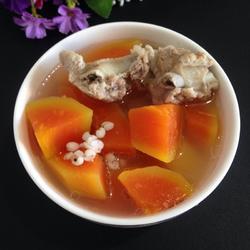 木瓜排骨汤的做法[图]