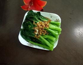 白灼广东菜心