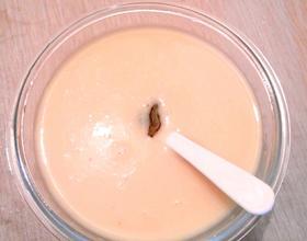 牛奶苹果汁