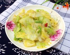 小炒圆白菜
