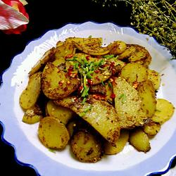 孜然土豆片的做法[图]