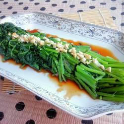 凉拌茼蒿菜的做法[图]