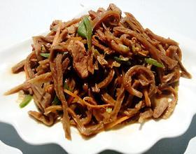 肉炒萝卜干