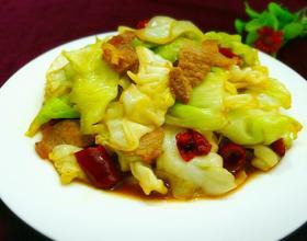 卷心菜炒肉