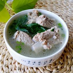 小白菜炖排骨的做法[图]