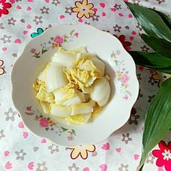 醋溜白菜的做法[图]