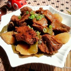 排骨土豆炖豆角的做法[图]