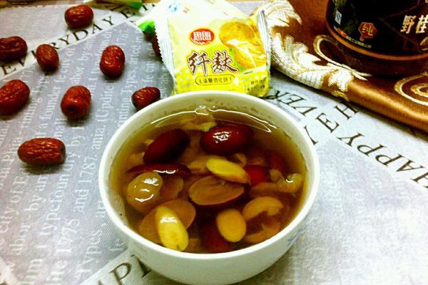 红枣桂圆黄芪茶