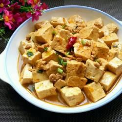 牛肉末烧豆腐的做法[图]