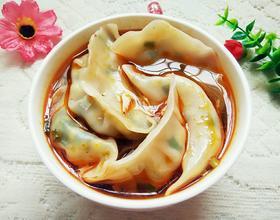 海米韭菜鸡蛋水饺