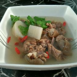 清炖羊肉汤的做法[图]