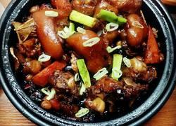塔吉锅版焖猪蹄