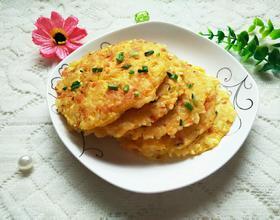 鸡蛋米饭煎饼