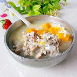 排骨南瓜米粥的做法[图]