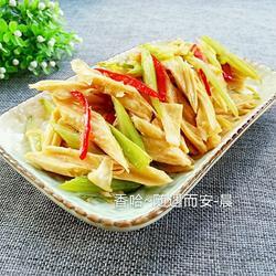 腐竹炒芹菜的做法[图]