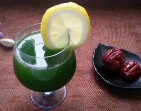 黄瓜柠檬梨汁