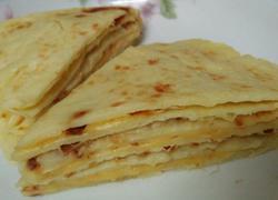 下午茶☞榴莲芝士千层饼