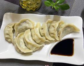 手工水饺——芹菜香菇鲜肉馅