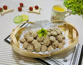 芝麻蛋香小饼