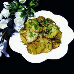 香煎土豆片(孜然味)的做法[图]