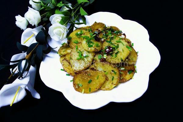 香煎土豆片(孜然味)的做法