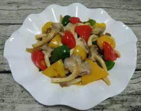 彩椒袖珍菇
