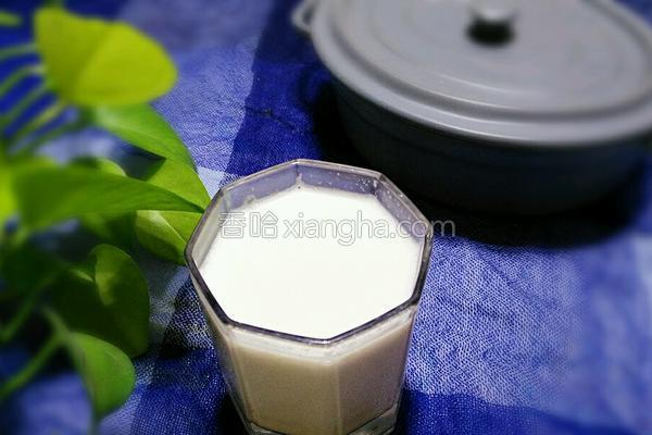 花生牛奶露的做法