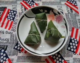 红豆糯米粽