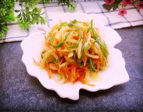 青椒胡萝卜土豆丝