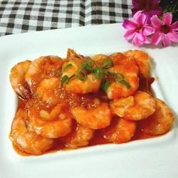 茄汁大虾的做法[图]