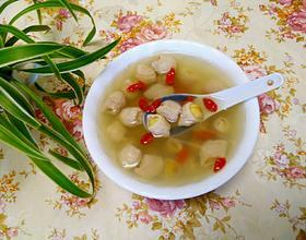 蜂蜜莲子小肠汤