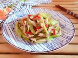 西芹炒蛏肉的做法[图]