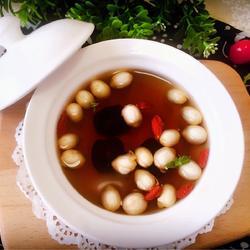 红枣莲子大麦茶