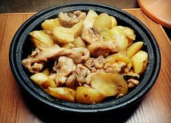 塔吉锅版土豆焖鸡腿