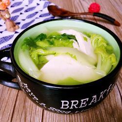 白菜豆腐汤的做法[图]