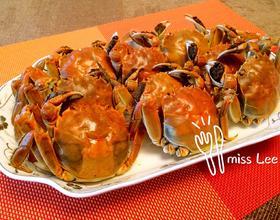 清蒸大河蟹的海参做法青菜清蒸做法大全图片