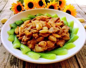 大蒜炒肉片