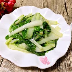 农家小白菜的做法[图]