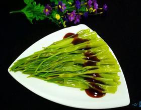 白灼通菜梗