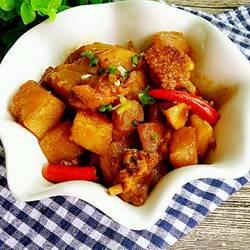 红烧土豆鸡翅的做法[图]