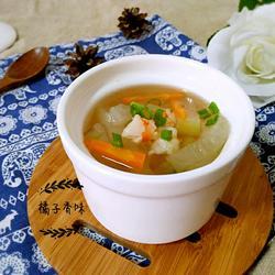 冬瓜虾仁汤的做法[图]