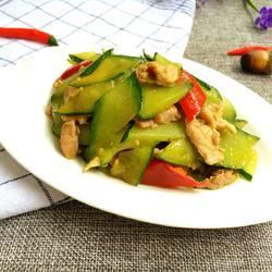 黄瓜炒肉的做法[图]
