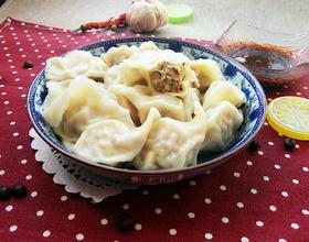 香菇肉饺子